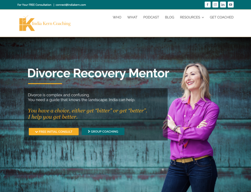 India Kern - Divorce Recovery Mentor