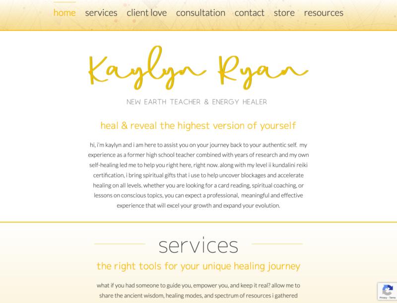 Kaylyn Ryan - New Earth Teacher & Energy Healer